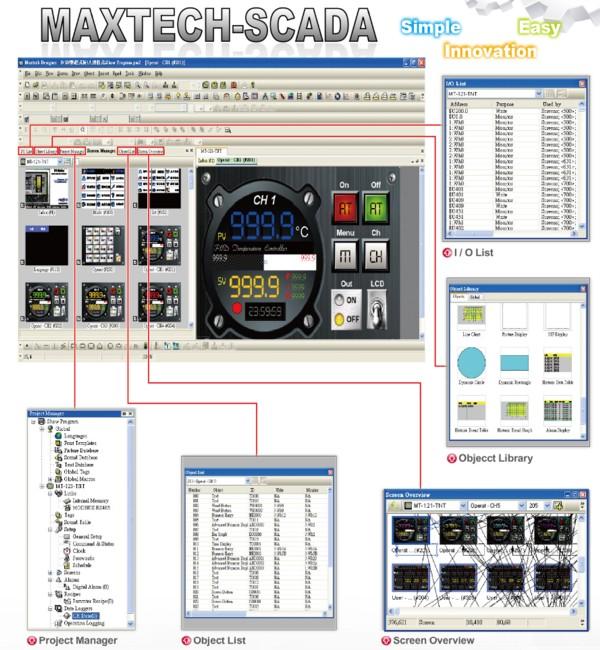 HMI MT043-WST4B, MT070-WST4B, MT080-TST4B, MT104WST4B, MT121-TST4B