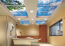 LED panel light for sky ceiling in hotel