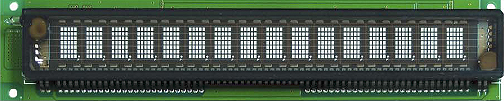 16L102DA4S 16x1 VFD characters modules dot matrix, Samsung, Giant Supplier