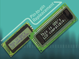 VFD modules characters, Samsung, LCD compatible, Giant Supplier